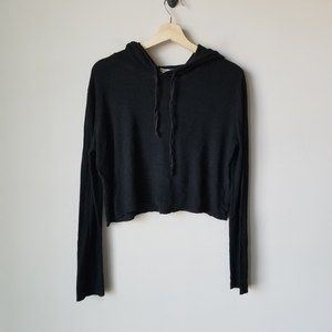 Don't Ask Why Revolve Crop Hoodie Sweater